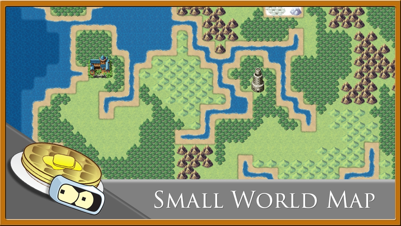 small world map speed