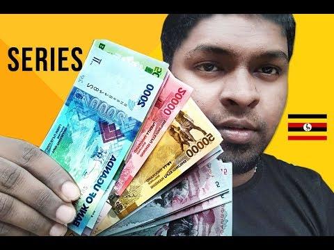 World Banknotes - Maldives and Uganda series