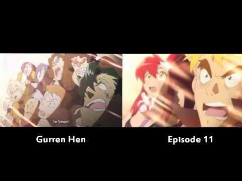 Gurren Lagann - Simon Becomes a Man (Gurren Hen and Episode 11 ...