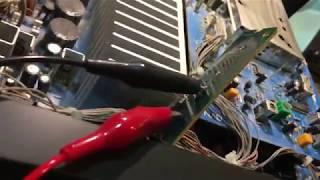NAD 705 display backlight repair ... cool blue LEDs