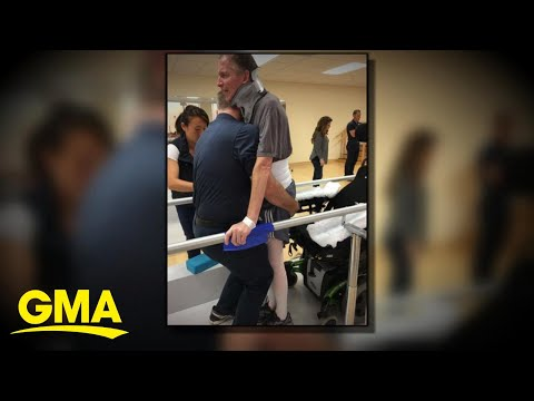 New Medical Innovation Helps Man To Walk Again L GMA