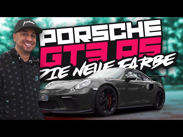 JP Performance - Porsche GT3 RS | Neue Folie