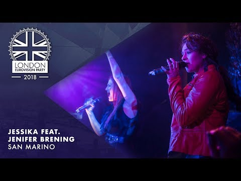 Jessika & Jenifer Brening - Who We Are - SAN MARINO | LIVE | OFFICIAL | 2018 London Eurovision Party