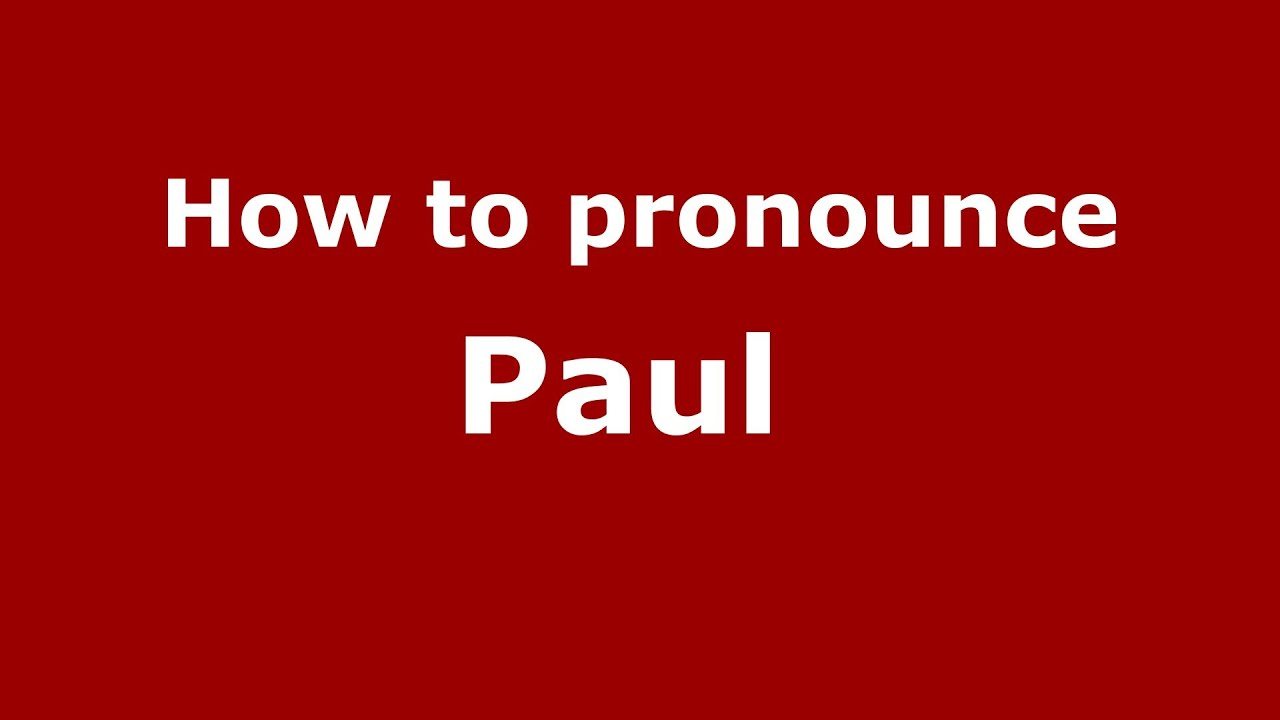 Paul: how to spell 22