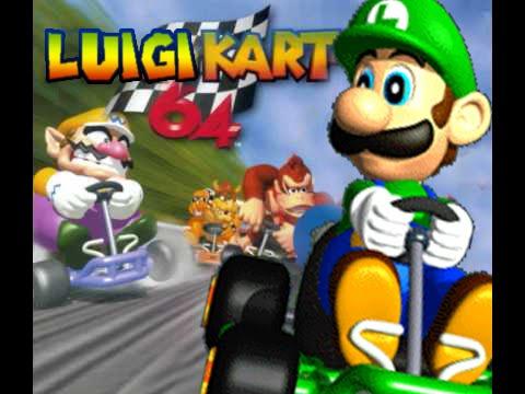Luigi Kart 64 Bloopers Ii Youtube