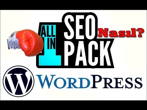 All In One SEO Pack ile WordPress Seo Ayarları