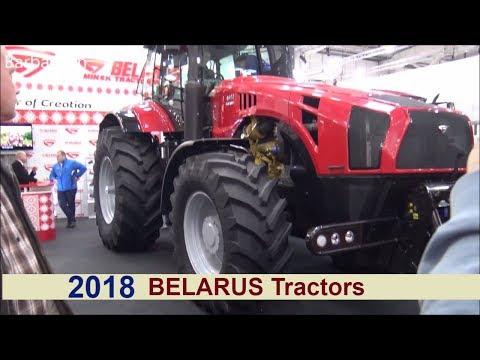 The Belarus 2018 Tractors