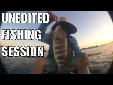 San Diego Fishing - Mission Bay on a Kayak