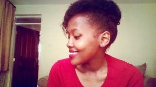 6 Simple Hairstyles On Short, Fine & Thin 4c Natural Hair | Wanza King'oo - itsWanza
