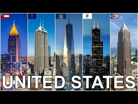 Tallest Buildings in Each U.S. State
