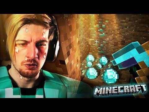 MINING DIAMONDS IN REAL DIAMOND ARMOR. (peak gameplay) || Minecraft (Part 6)