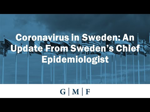 Coronavirus in Sweden: An Update From Sweden's Chief Epidemiologist