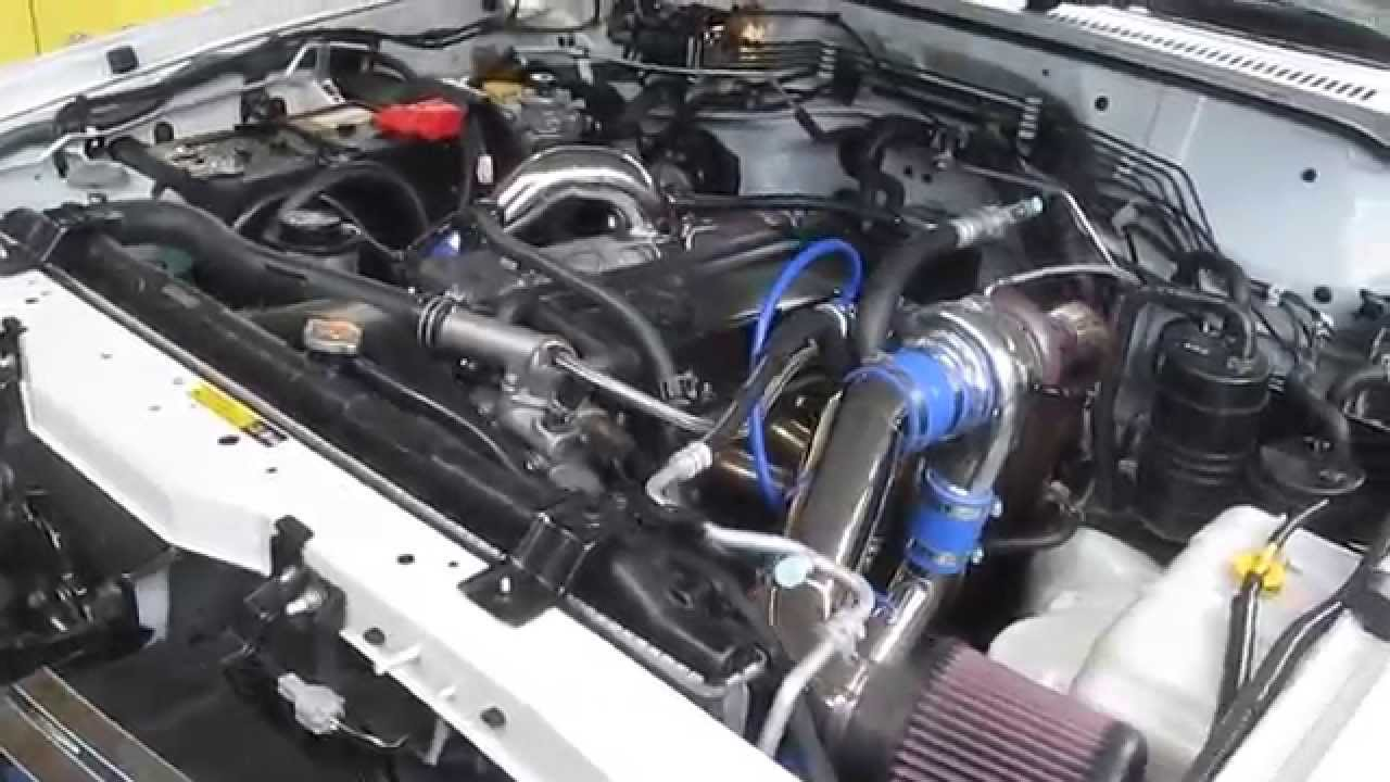 Nissan Patrol TD42 Top-mount Billet turbo kit
