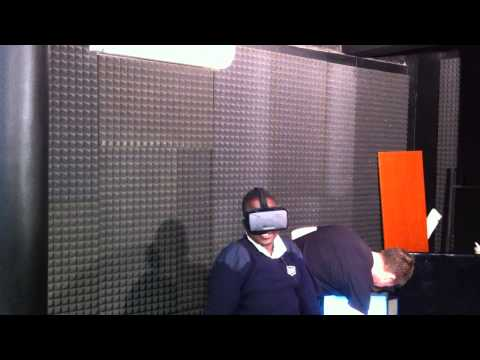 Best reaction to Oculus Rift DK2 - GamersNights Uganda