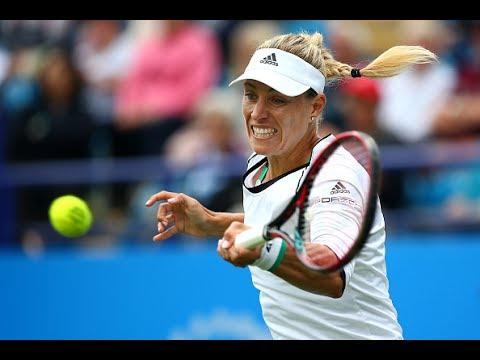 2017 Aegon International Second Round | Angelique Kerber vs Kr. Pliskova Pliskova | WTA Highlights