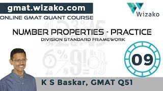 Remainders & Divisors   Division Standard Framework   GMAT Numbers Practice #9   GMAT Online Course