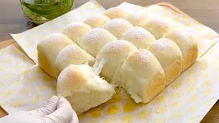 日式超鬆軟 煉乳牛奶麵包 【答謝十萬訂閱 不藏私的食譜分享】Super Soft & Fluffy Japanese Milk Bread |Thanks for 100K Subscription