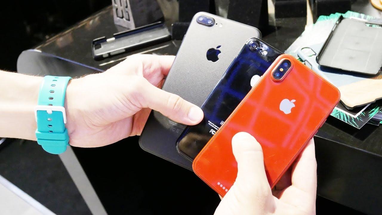 Смотрим корпус нового iPhone 8 или iPhone Edition