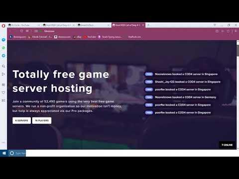 Free VPS For Game Servers (CS: GO, CS 1.6, COD4) ETC..