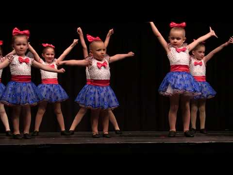 Party in the USA - 3 and 4 Year Old Pom Cheer