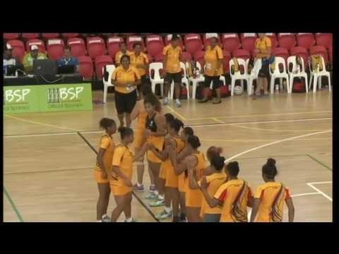 Pacific Games   2015   D11 NETBALL G1 PNG vs TONGA
