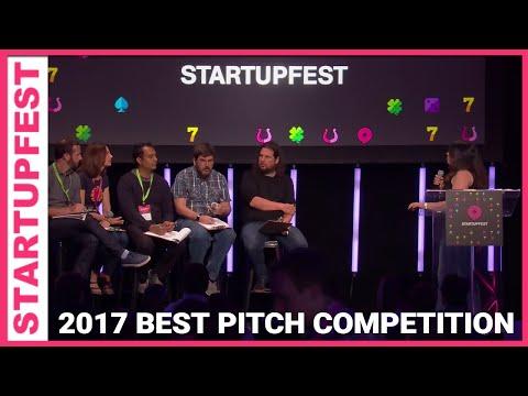 """Best Pitch"" Competition - Startupfest 2017"