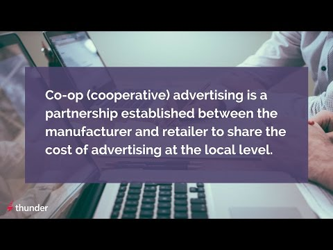 What is Co-Op Advertising?