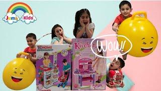 Bouncy Ball & Balloon Part 3 of 4 | Unboxing by Juma Kids