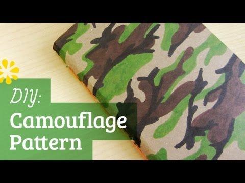 DIY Camouflage Pattern | Sea Lemon