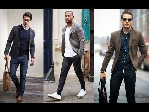 Blazer Hombres Vestir Casual Moda 2018