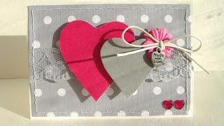 Красивые открытки своими руками с днем  святого Валентина