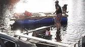 Homemade Pontoon Boat Part 5 - YouTube