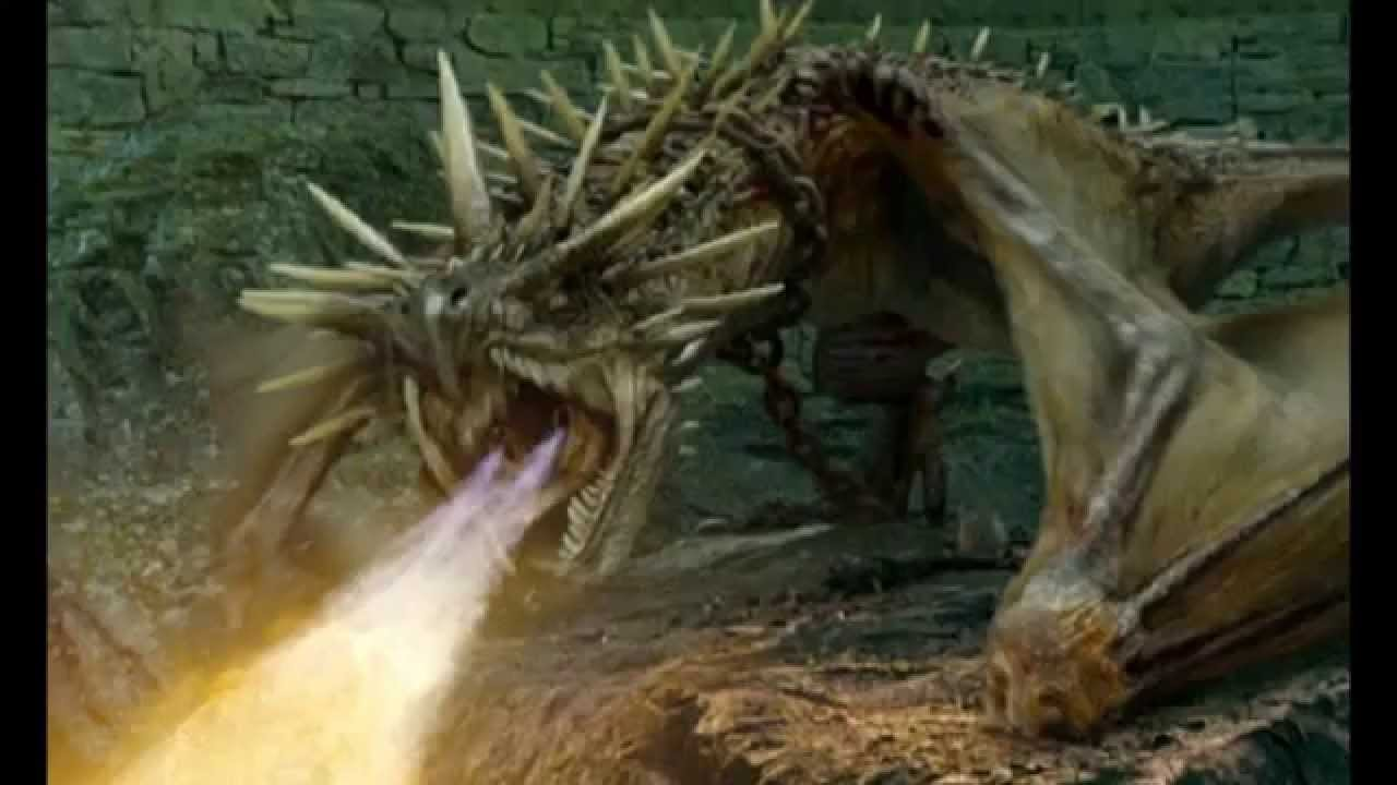 Dragon SFX - Hungarian Horntail Sounds - YouTube
