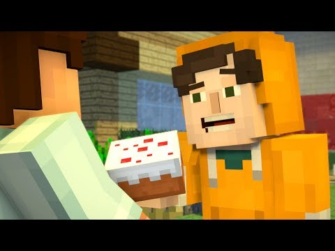 Minecraft: Story Mode - Cake Vs Pumpkin Pie - Season 2 - Episode 1 (2)