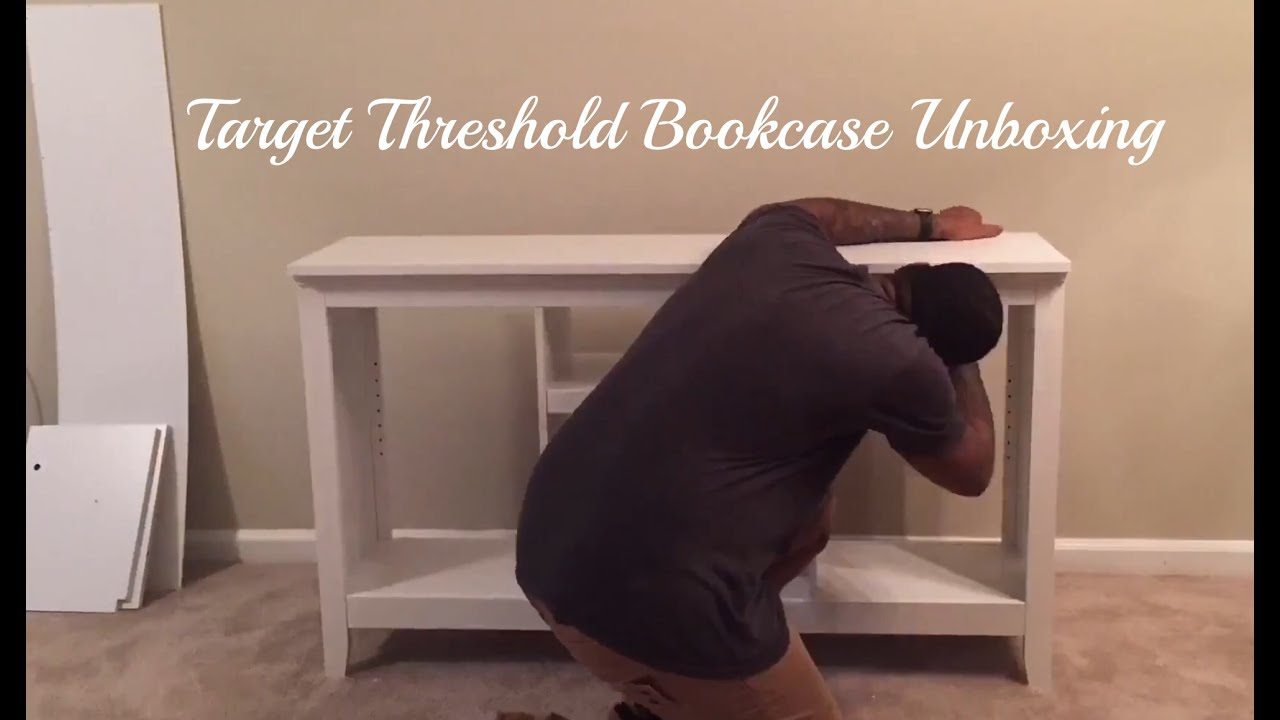 Target Threshold Bookcase Unboxing
