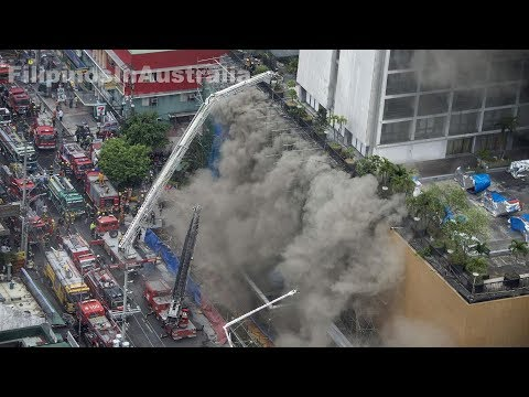 Fire at the Waterfront Manila Pavilion Hotel and Casino Complex