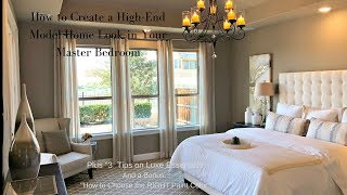 New Show Episode 4: How To Create A High End Model Home Look In Your Master Bedroom