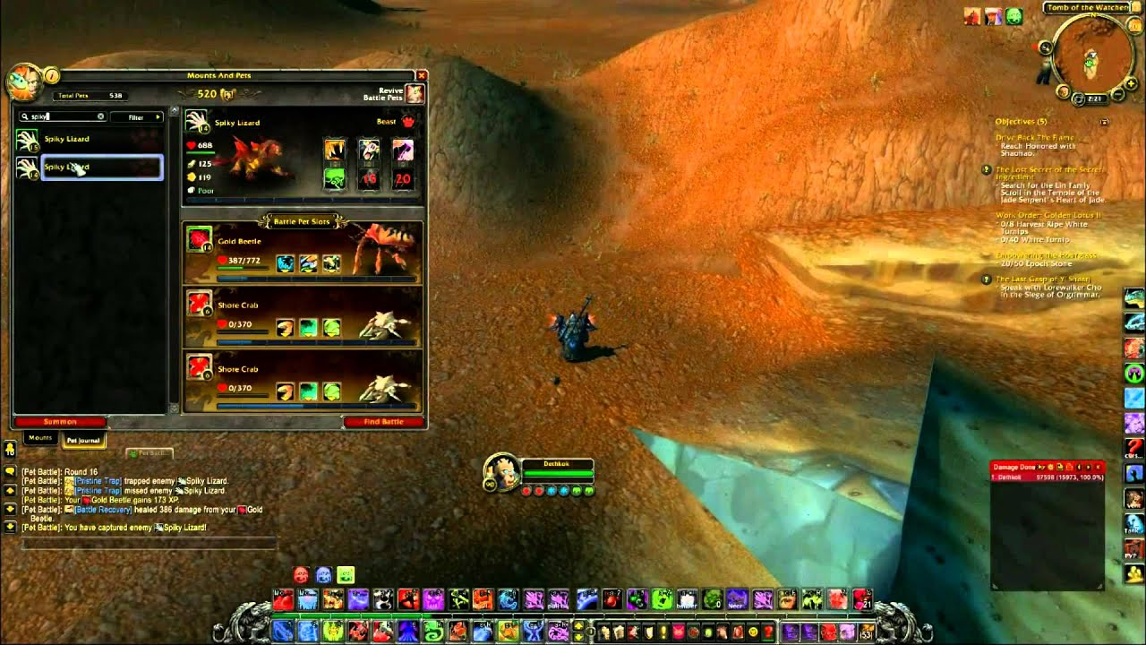 first level 25 wow battle pet howto the fast way youtube rh youtube com Best WoW Leveling Guide Vanilla WoW Leveling Guide