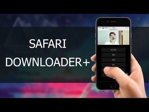 Cách tải video từ Safari ios 9.3.2-9.3.3|Safari Downloader +