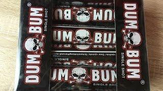 Dum Bum Bombenrohr Single Shot 30mm Salute NEW 2015