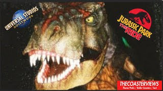 POV Jurassic Park : The Ride River Adventure Universal Studios Hollywood thumbnail