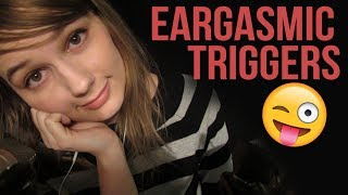ASMR EARGASMIC TRIGGERS | MOUTH SOUNDS | TONGUE SHAKING | KISS