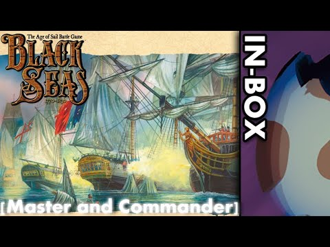 [In-Box] Black Seas - Master and Commander