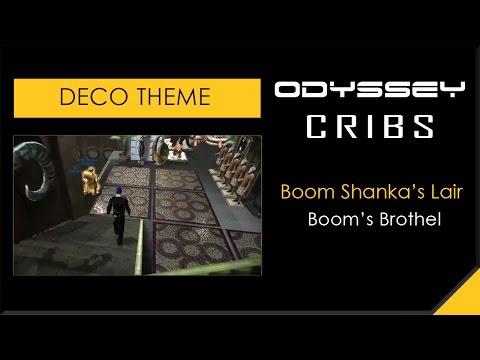 DCUO - Odyssey Cribs - Deco Theme - Boom's Brothel - Odyssey