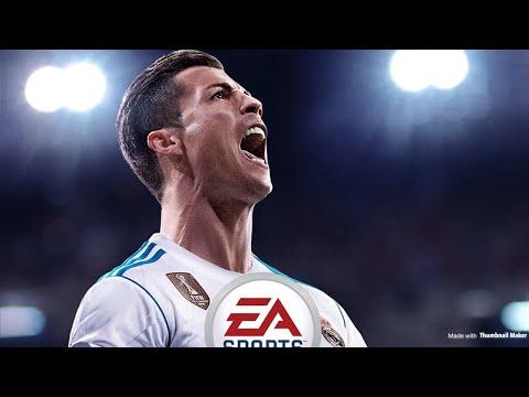 Fifa 18 on my tv(FC Barcelona-Newcastle)