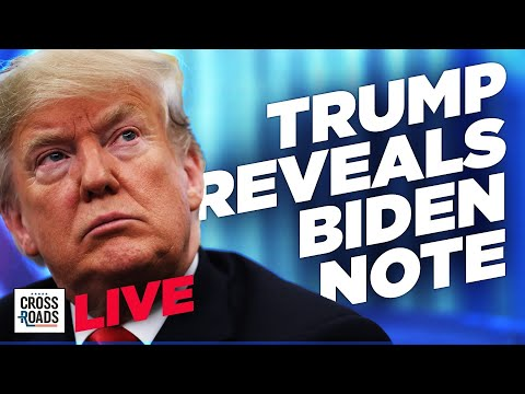 Live Q&A: Trump Reveals What He Wrote in Note to Biden; Says America No Longer Has a Free Press