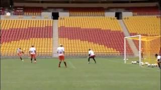 Brisbane Roar Training At Suncorp