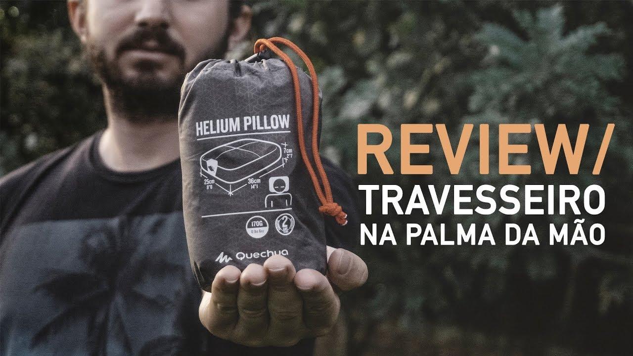 6d0c5a7b6 REVIEW ALMOFADA HELIUM 900 QUECHUA (Travesseiro Viagem) - Mundo de Quintal