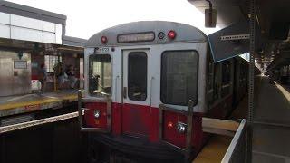 MBTA   Boston subway observations September 2016