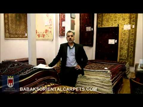 A brief history of Babak's Oriental Carpets